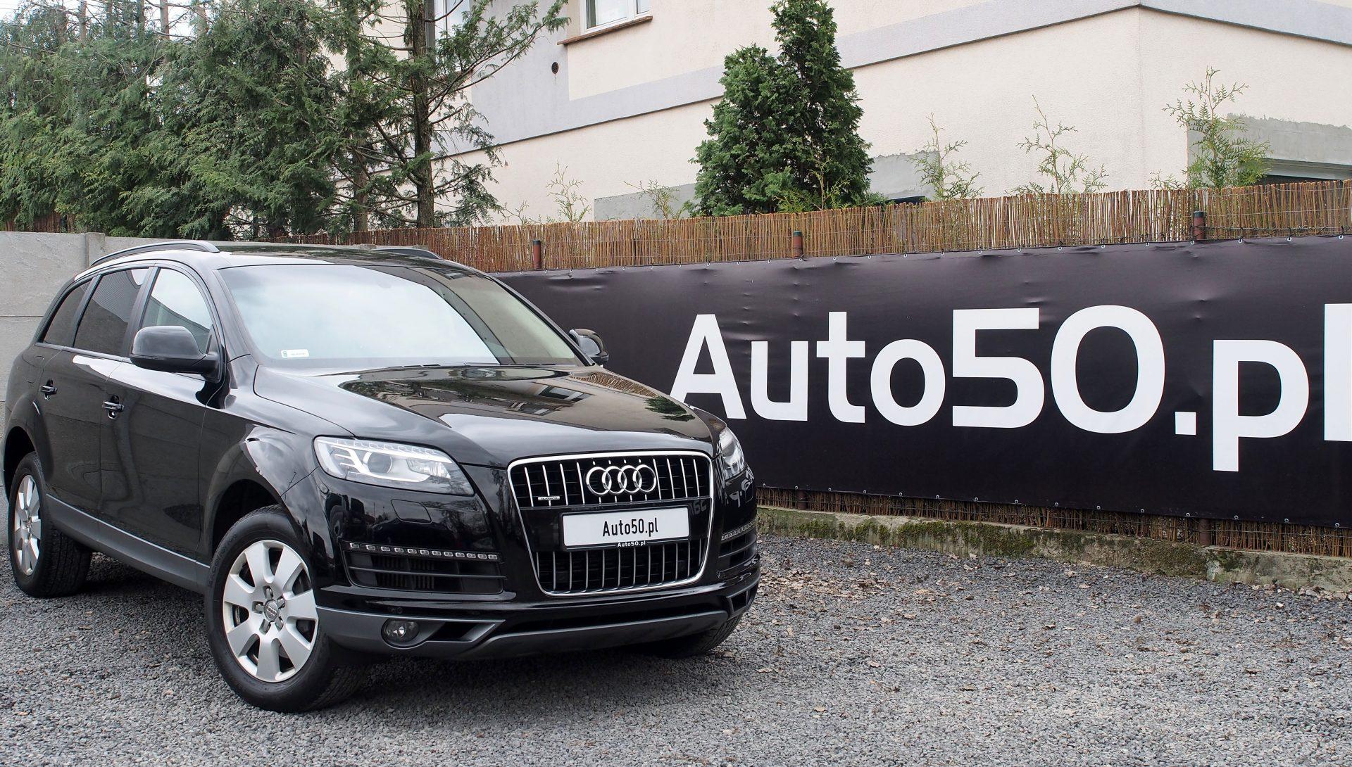 Audi Q7 3.0TDI Quattro 2015 Salon PL