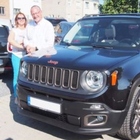 Pan Tomasz (Jeep Renegade 75th Anniversary)