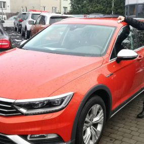 Leszek Pawełczyk (Volkswagen Passat Alltrack 4Motion)