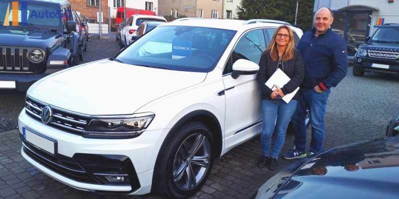 Pani Agnieszka (Volkswagen Tiguan R-Line)