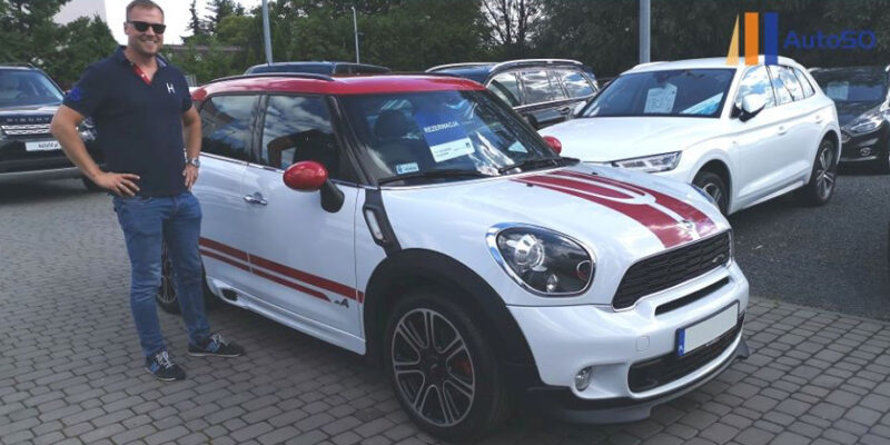 Adam Lisiewicz (MINI Countryman John Cooper Works)