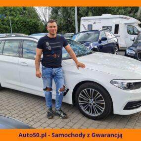 Marcin Krupiński (BMW 518d G31)